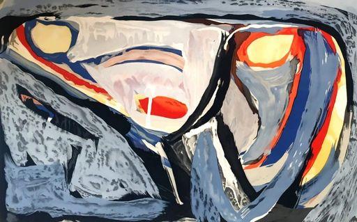 Abraham Gerardus VAN VELDE - Stampa-Multiplo - Composition, 1962