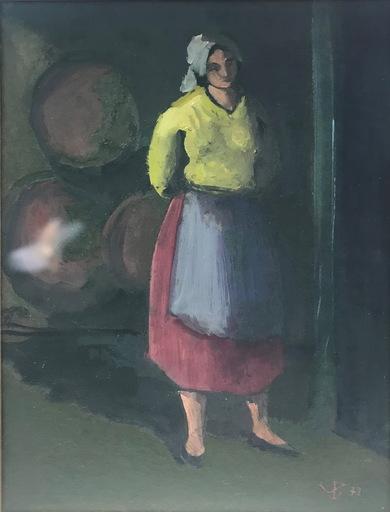 Jaime DEL VALLE INCLÁN - Gemälde - BODEGUERA