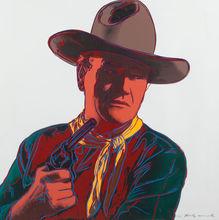 Andy WARHOL - Estampe-Multiple - John Wayne