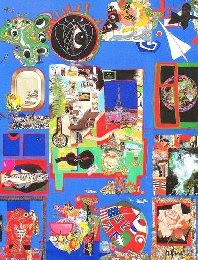 Roger BEZOMBES - Druckgrafik-Multiple - Tour du monde