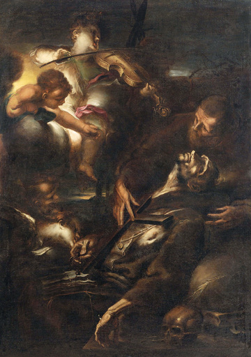 Alessandro MAGNASCO - Pintura - Ecstasy of Saint Francis
