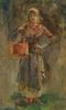 Ulpiano CHECA Y SANZ - Painting - Porteuse d'eau à Venise -Venecia