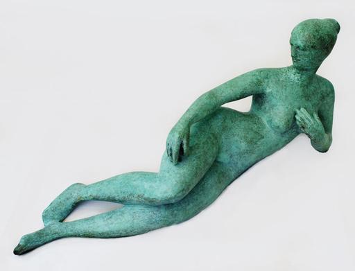 Karl Heinz KRAUSE - Sculpture-Volume - Josephine mit Apfel