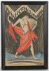 """Ferdinand OPITZ - Dibujo Acuarela - """"Project for an exhibition poster"""", drawing, 1920s"""