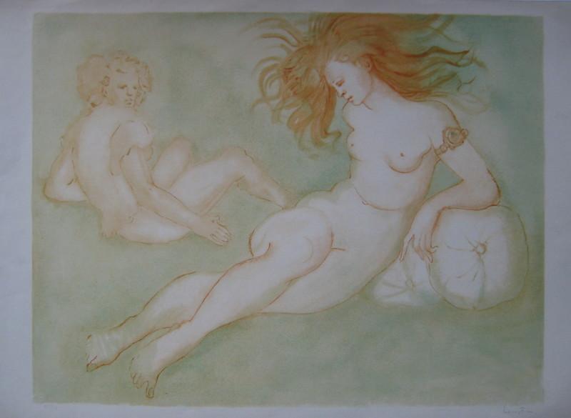 Leonor FINI - Print-Multiple - LITHOGRAPHIE SIGNÉE AU CRAYON NUM/250 HANDSIGNED LITHOGRAPH