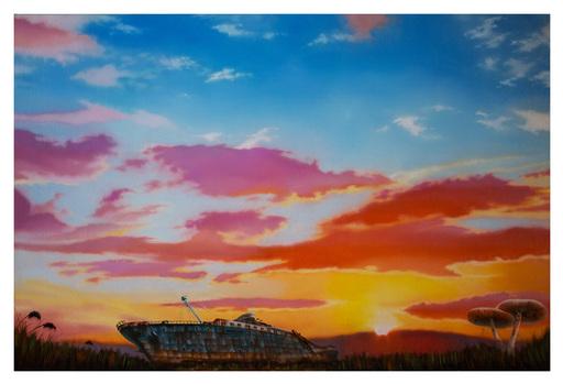 Carlo Alberto RASTELLI - Painting - Gordon Pym