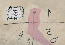"""Antoni TAPIES - Print-Multiple - """"Signes et bras"""""""