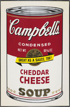 Andy WARHOL - Estampe-Multiple - Campbell's Soup II Cheddar Cheese F&S II.63