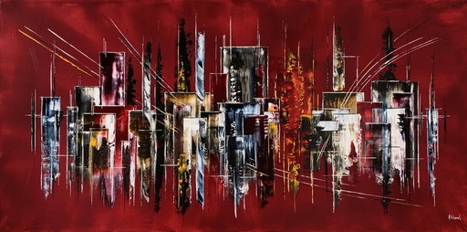 Arnaud DUHAMEL - Pittura - N°I06-120