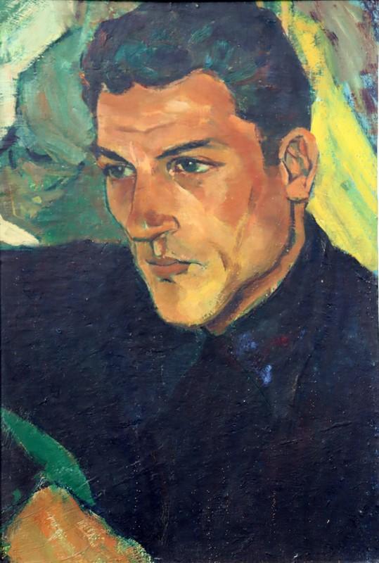 """Jacques BUREL - Painting - """"LE BEAU GOSSE"""""""