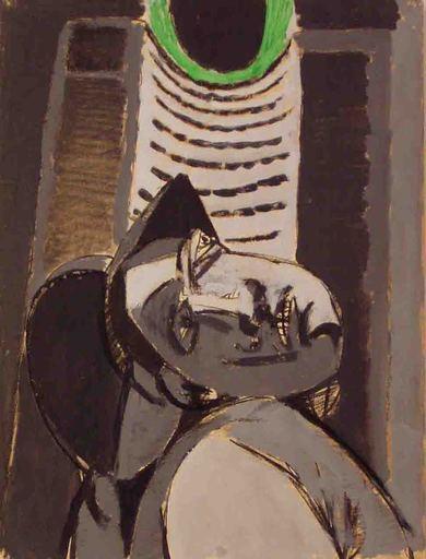 Renato BIROLLI - Painting - Minatore