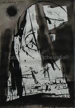 José CABALLERO - Drawing-Watercolor - García Lorca - Llanto por Ignacio Sánchez Mejías
