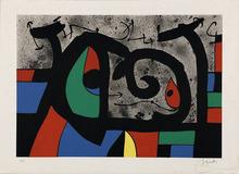 Joan MIRO - Print-Multiple - Le Lézard aux plumes d'or planche 9