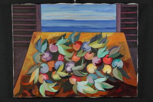 Saverio TERRUSO - Painting - Composizione alla finestra