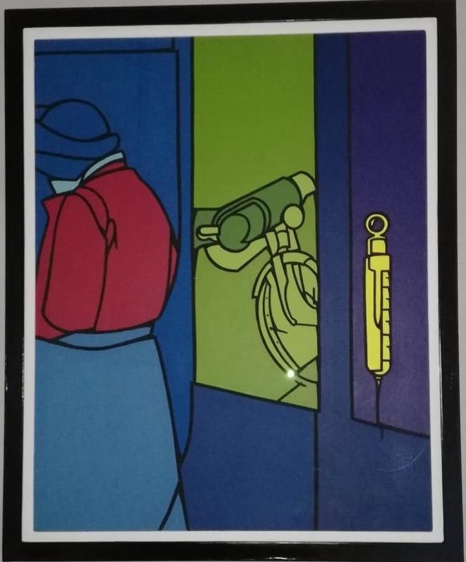 Valerio ADAMI - Painting - Sequenza