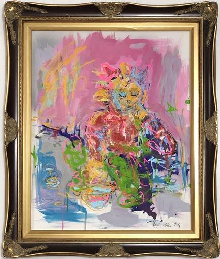 Nicole LEIDENFROST - Gemälde - Schlafend am Strassenrand