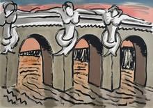 MAN RAY - Estampe-Multiple - Le Pont Neuf
