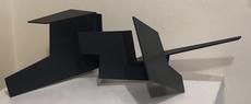 Jorge OTEIZA DE - Escultura - conjunción de 4 espacios abiertos