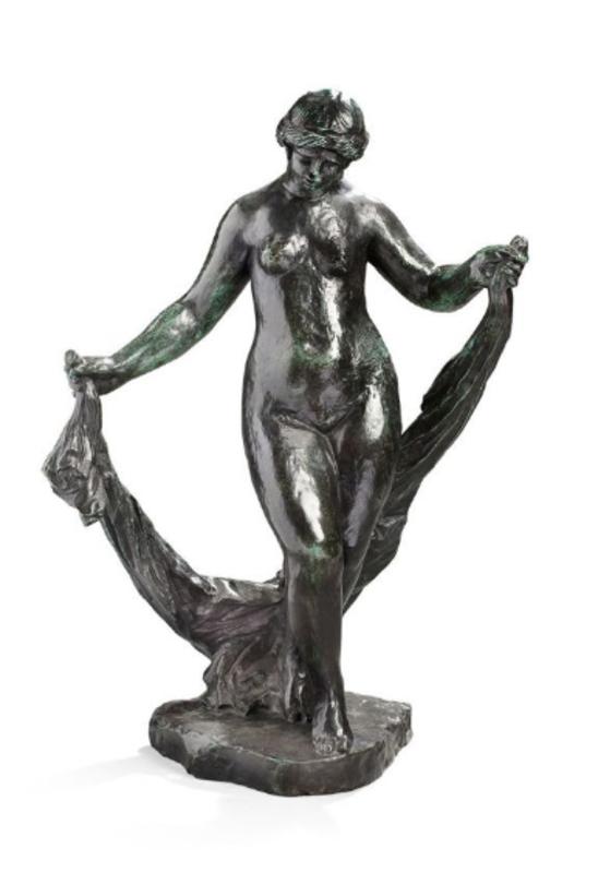 Pierre-Auguste RENOIR - Sculpture-Volume - La danseuse au voile