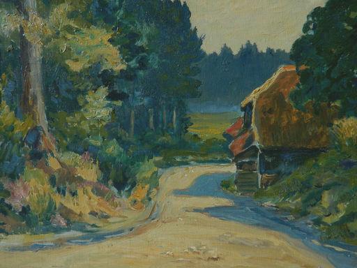 Charles HOUSSARD - Pintura - PAYSAGE - LANDSCAPE