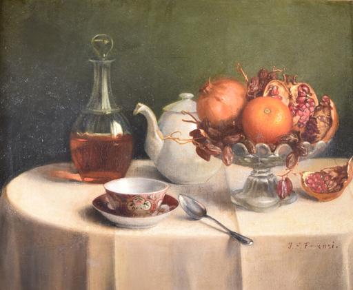 John F. FRANCIS - Gemälde - Untitled