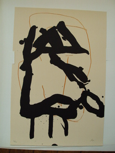 "Robert MOTHERWELL, ""Beau Geste"" VI 1989"