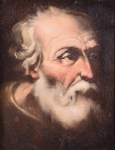Jusepe DE RIBERA - Painting - Untitled (Portrait of Old Master)