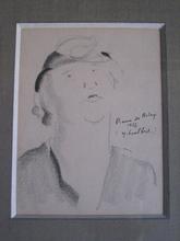 Pierre DE BELAY - Drawing-Watercolor - YVETTE GUILBERT  1937