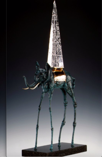 Salvador DALI - Sculpture-Volume - Space Elephant