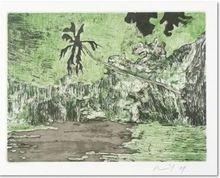 Peter DOIG - Estampe-Multiple - Black Palm