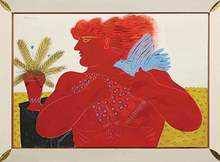 Alexandre FASSIANOS (1935) - Red Young Men