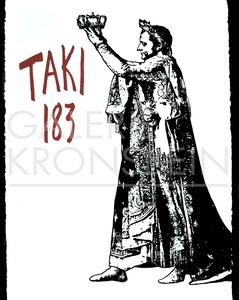 BLEK LE RAT - Stampa-Multiplo - Napoleon crowning Taki 183
