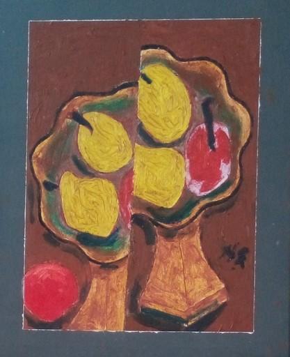 Harry BARTLETT FENNEY - Pittura - still life with pears