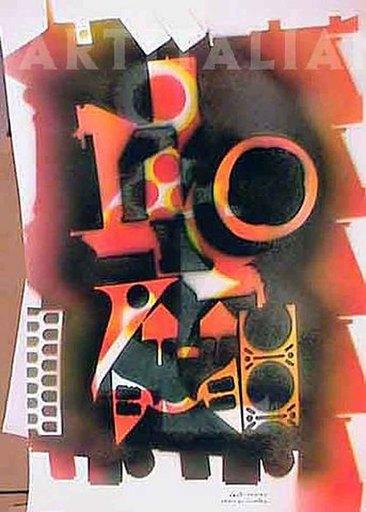Paolo CONTI - Painting - Studio per inventari