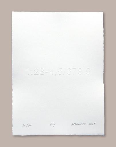 Heinz GAPPMAYR - 版画 - 1-9