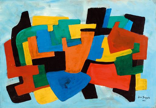Lucas SUPPIN - Pittura - Farbkomposition