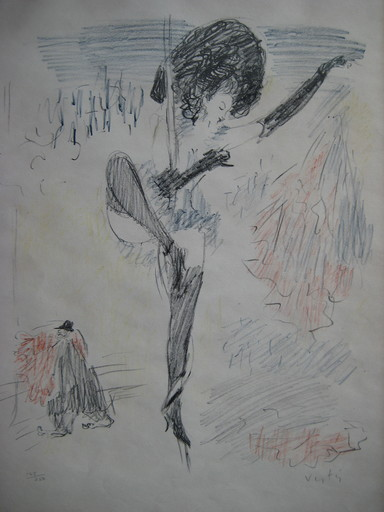 Marcel VERTES - Print-Multiple - LITHOGRAPHIE SIGNÉE AU CRAYON NUM/250 HANDSIGNED LITHOGRAPH