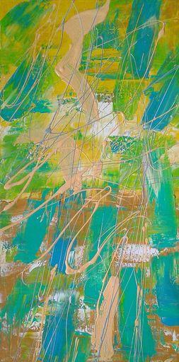Marie Edmée SEGUIN - Painting - La nuit des temps N°42