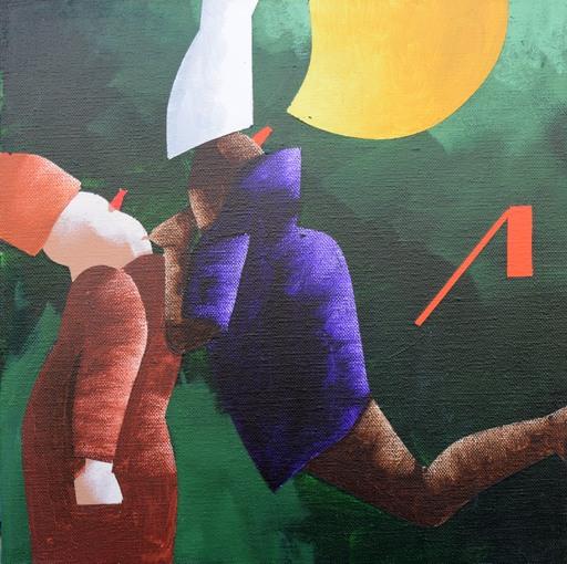 Emilio TADINI - Painting - Fiaba