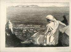 Maurice DENIS - Print-Multiple - RARE LITHOGRAPHIE SIGNÉE CRAYON NUM HANDSIGNED LITHOGRAPH