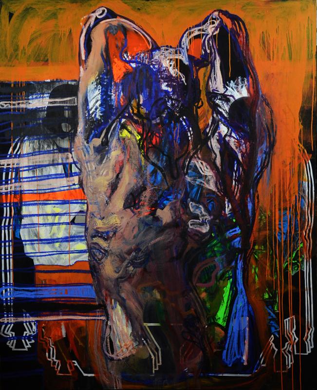 """Evgeniya MALTSEVA - Pittura - """"Brutality # 2"""""""
