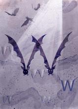 Rocío DEL MORAL - Estampe-Multiple - Animal Alphabet - The letter W    (Cat N° 6196)