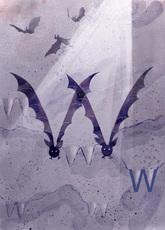 Rocío DEL MORAL - Grabado - Animal Alphabet - The letter W    (Cat N° 6196)