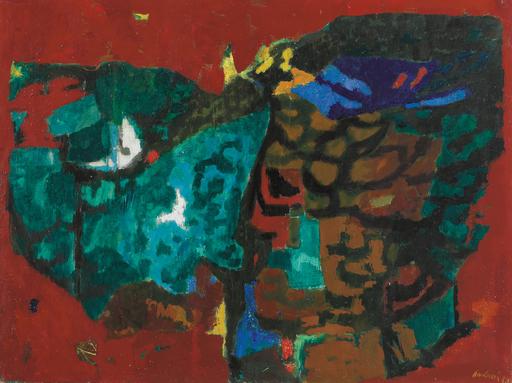 Enrico PAULUCCI - Gemälde - Costiera rossa