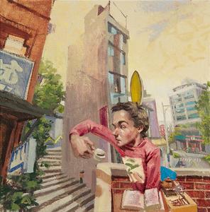 Benjamin DUKE - Peinture - 這不是北投