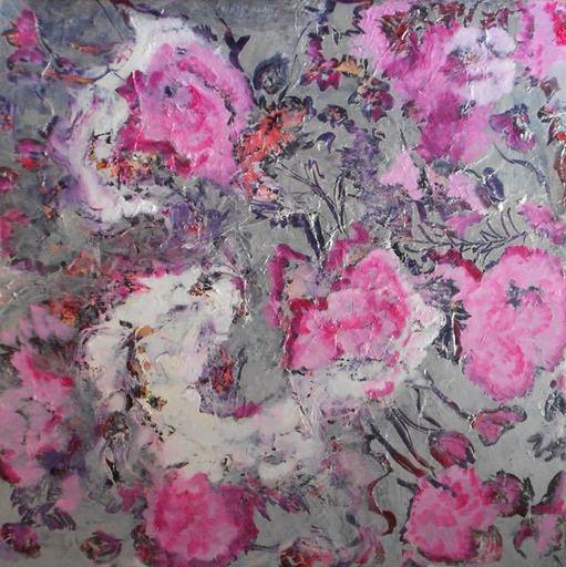 Theodora BERNARDINI - Painting - Geranium Rosa