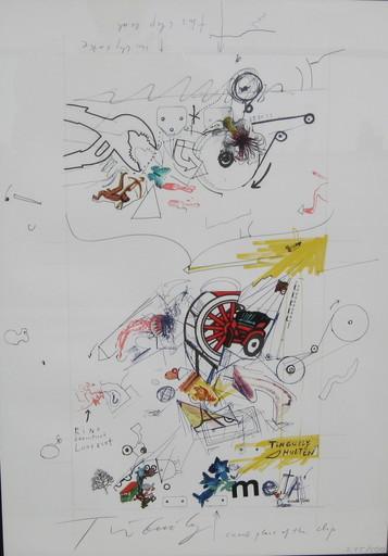 Jean TINGUELY - 版画 - Hulten, oder auch Meta