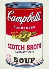 安迪·沃霍尔 - 版画 - Campbell's Soup II: Scotch Broth