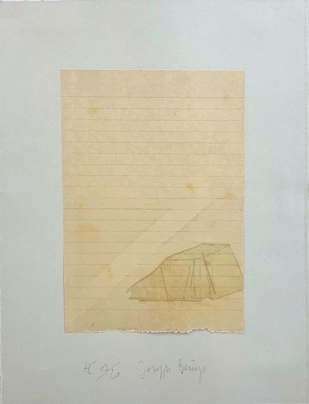 Joseph BEUYS - Print-Multiple - Zelt und Lichtstrahl