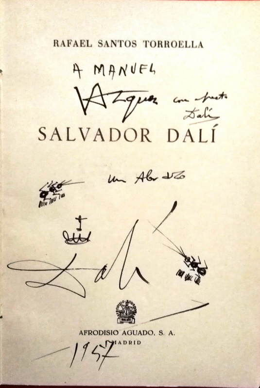 Salvador DALI - Drawing-Watercolor